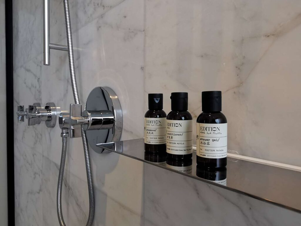 The Shanghai Edition Bathroom Amenities