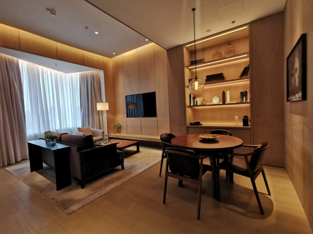 The Shanghai Edition Suite Living Room