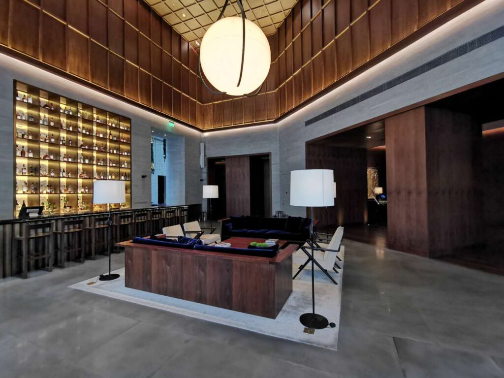 The Shanghai Edition Lobby Bar