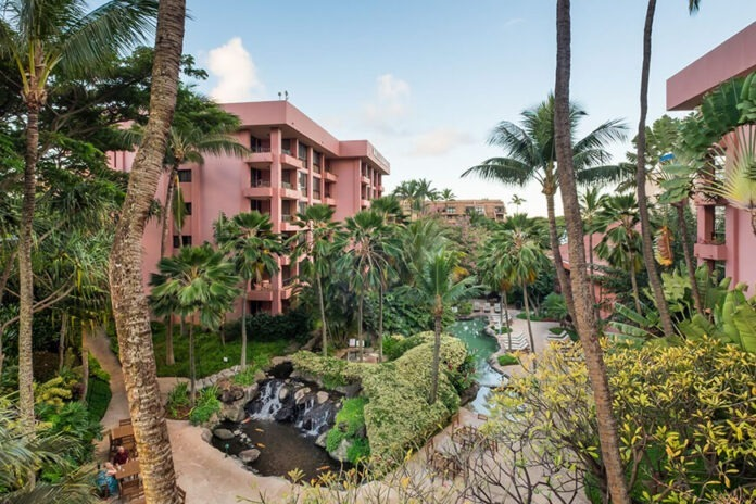 Kahana Falls one of the best budget hotels in Maui