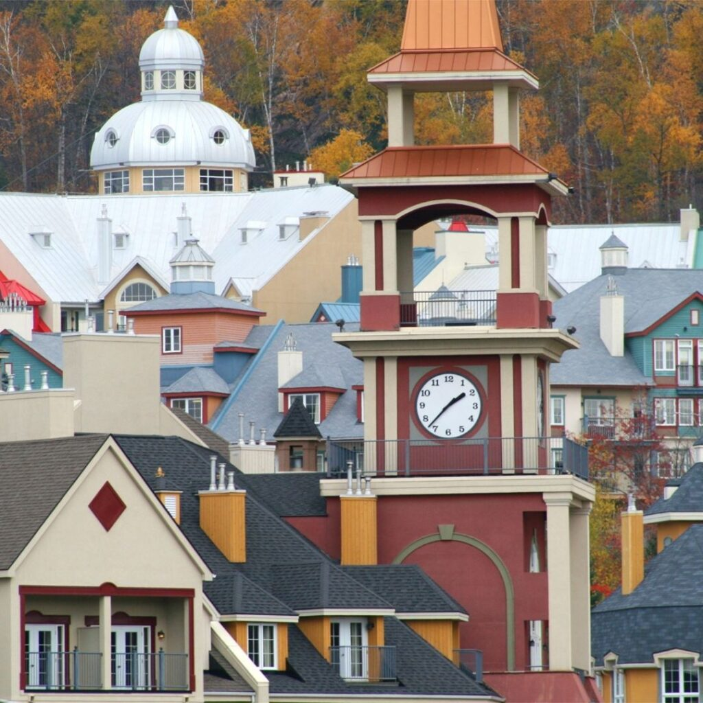 Mont Tremblant Clock Tower